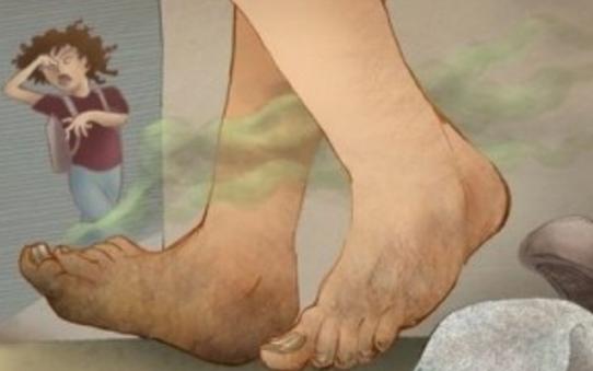запах от ног