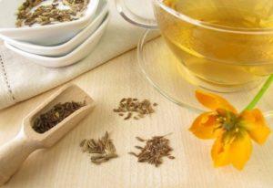 чай с фенхелем от влажного кашля