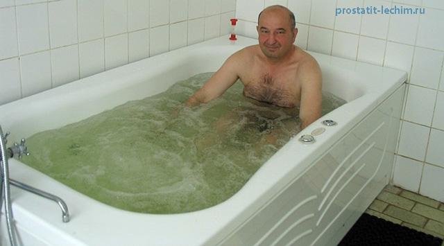 лечебные ванны с ромашкой от простатита