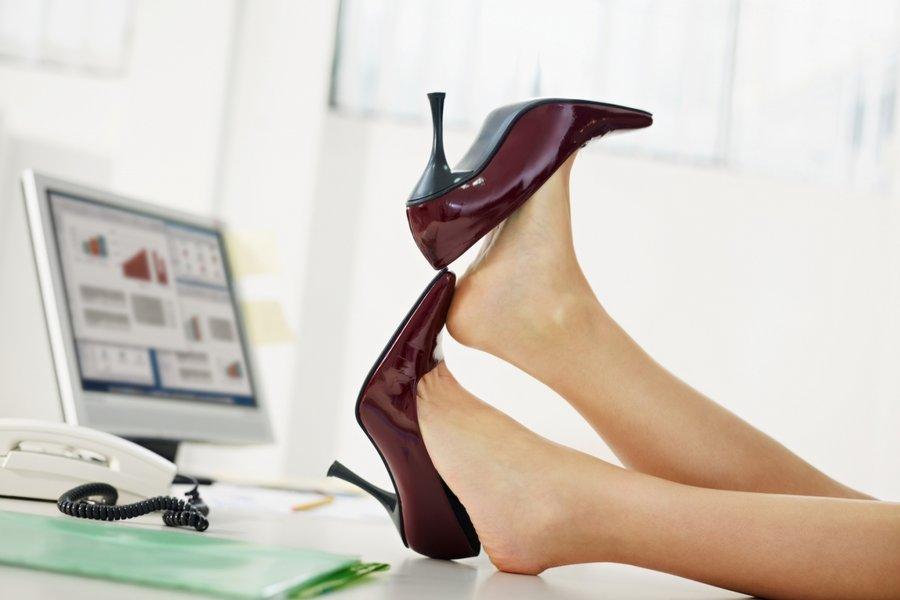 Высокое положение ног