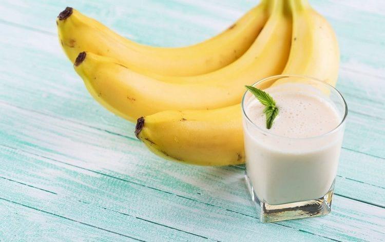 Разгрузочный день на кефире и бананах